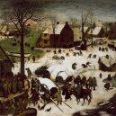 """""""Zázrak roku 1511"""" – jak obyvalé """"zuřili"""" pomocí sněhuláků - Brueghel7"""