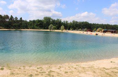 Středočeské jezero Konětopy